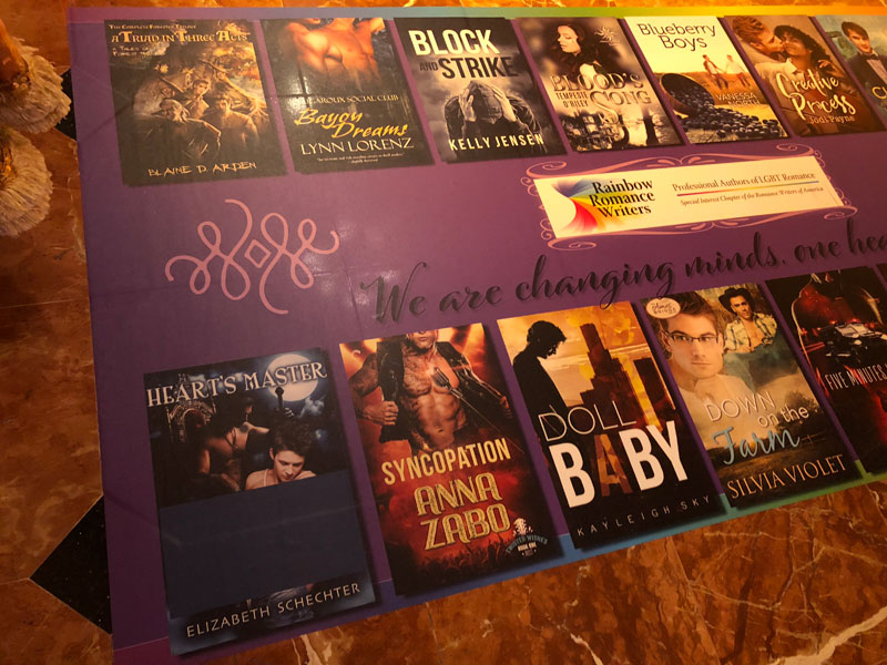 Censoring of LGBT book covers at RT by the Peppermill Resort